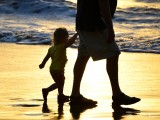 walking with grandpa