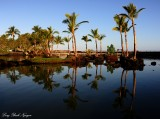 perfect reflection, Mauna Lani Bay, Hawaii