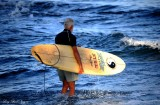 morning surfing, Pauoa Bay, Big Island, Hawaii