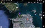 Google Maps on Kindle Fire HD 7 - Screenshot of SF/Marin area