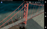 Google Earth - ScreenShot - Golden Gate Bridge- on Kindle Fire HD 7