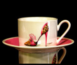 I See Red Elegance on a cup