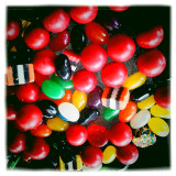 I see Red in my Fav Sweets