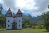 Church in Haapiti, Moorea, French Polynesia