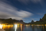 5 minute exposure; Cook's Bay, Moorea, French Polynesia