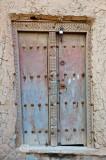 Colored Wooden Door