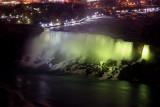 American Falls by night