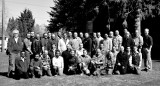 ISU Mechanical Engineering graduates 2013 with most faculty and a doggie 1600pix BW 024.JPG