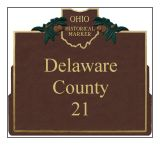 Delaware County Historical Markers