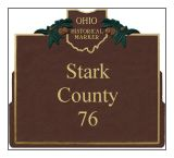 Stark County Historical Markers