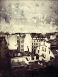 Toits de Paris en Hiver