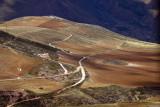 Paysage coloré. Région de Potosi