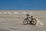 Salar d'Uyuni. La bicyclette