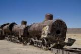 Le train ne sifflera plus. Uyuni