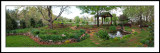 Early Spring Garden Pano