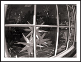 Old Salem Shop Window with Moravian Stars