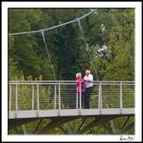 Lovers 2-on the bridge