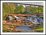Reedy Fork Falls and Bridge