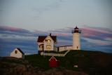 DSC01822.jpg Nubble lighthouse at dusk