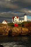 DSC09978.jpg NUBBLE LIGHTHOUSE  last night... lighthouses york by donald verger