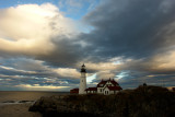 DSC03856.jpg CLOUDY  AFTERNOON AT PORTLNAD HEAD LIGHT :) and see a wildly clicked new image