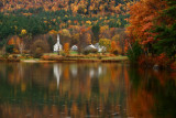 DSC00056.jpg rain of shine... try try try again, The Little White Church Eaton NH
