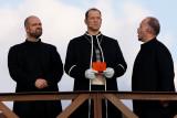 evin Armstrong als 3. Priester. Christoph Stegemann als Kaiphas. Samuel Kobel als Priester