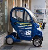 Electric car in Geneva