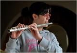 Rebecca on the flute