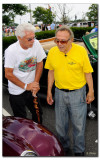George meeting the owner of a fine street rod