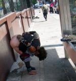 Miseria en las calles de Barranquilla.  Misery in the streets of Barranquilla.Elend in den Stra�en von Baranquilla