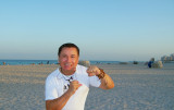 Miami Mi pie en tierra