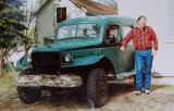 Jim and his Power Wagon, date unknown