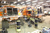Rigging out in Warehouse U-11