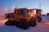 Fueling the Sno-cat