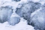 Receding Snow Bank
