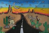 Oatman, Arizona on Route 66