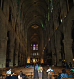 Notre Dame de Paris - Interior