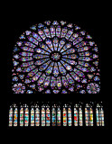 Cathédrale Notre Dame de Paris - North Rose Window