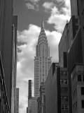 The Chrysler Building B&W