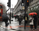 Rainy day in London Town