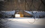 Bridge over frozen water