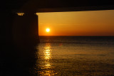 Sunset from beneath the Bridge