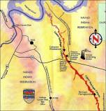 Antelope Canyon Map