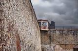 Corner watch tower