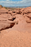 The beginning of Lower Antelope Canyon