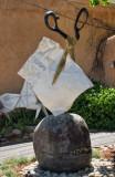 Rock, Paper, Scissors Sculpture