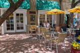 Outdoor cafe, Santa Fe