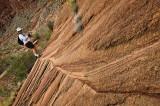 A tilted hike