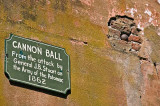 Cannon ball wall